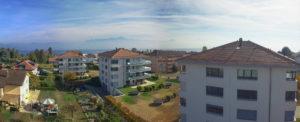 Photo panoramique aérienne - Drone - Immobilier à St-Sulpice