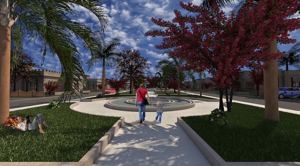 Modélisation 3D - Rendu 3D - Promotion immobilière - Les Bougainvilliers
