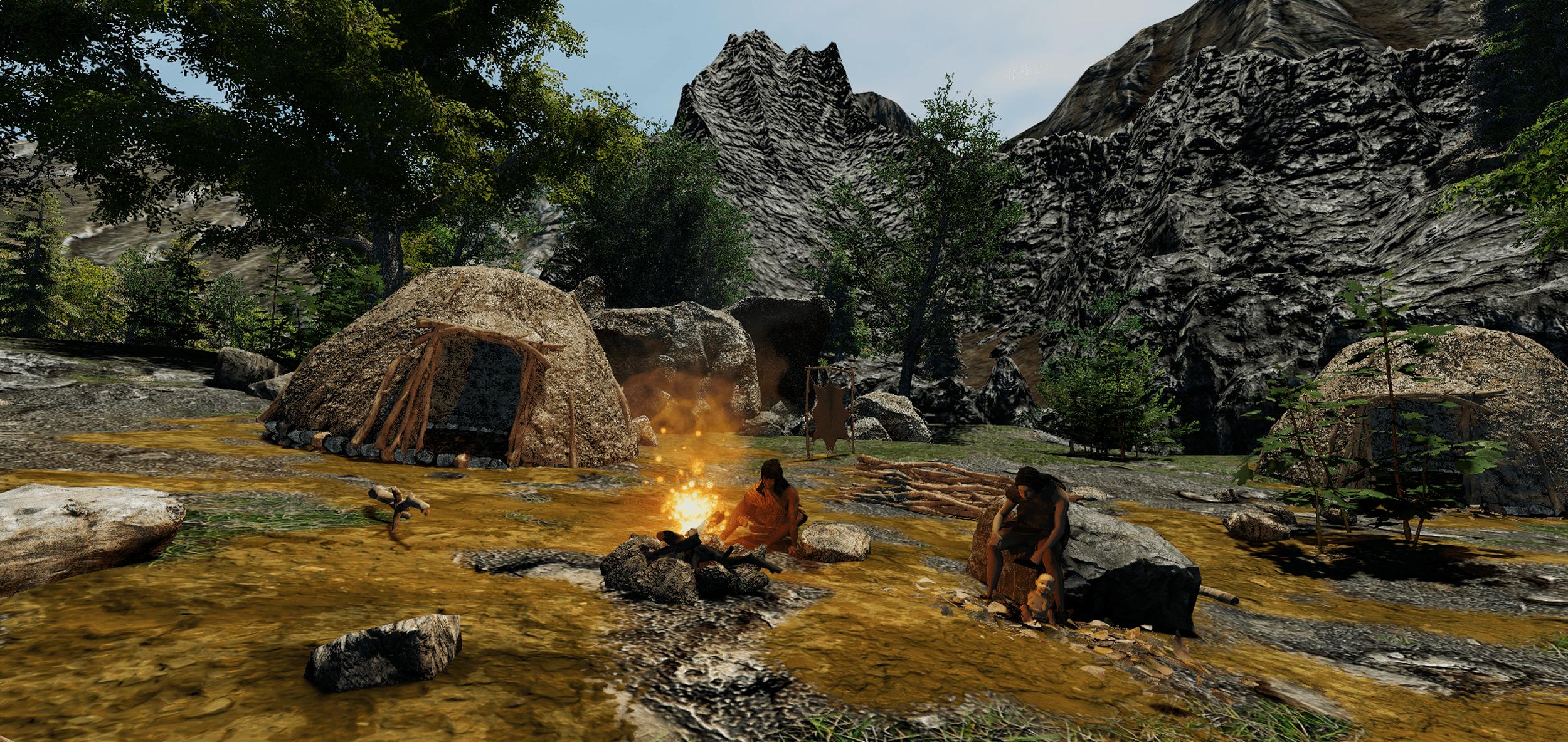 3D modeling - Prehistoric world - The Mesolithic