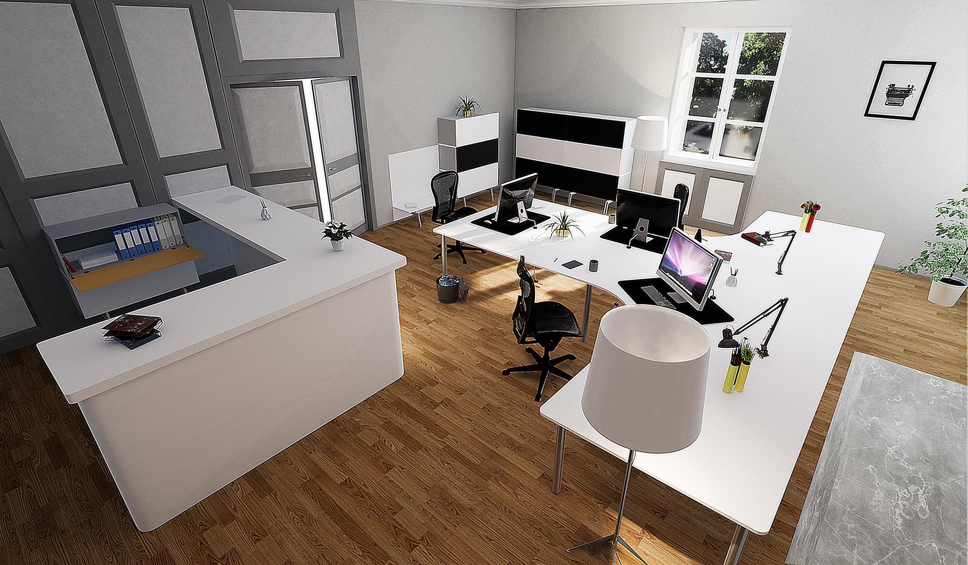 3D modeling - 3D rendering - Real estate promotion - Renovation of the municipal registry in Préverenges