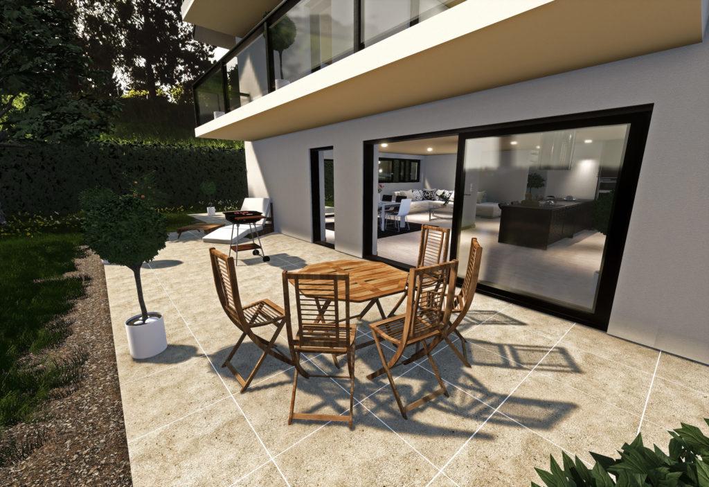 Modélisation 3D - Rendu 3D - Promotion immobilière - Les Marronniers