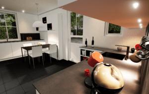 3D modeling - Kitchen renovation rendering 7 - Unreal Engine