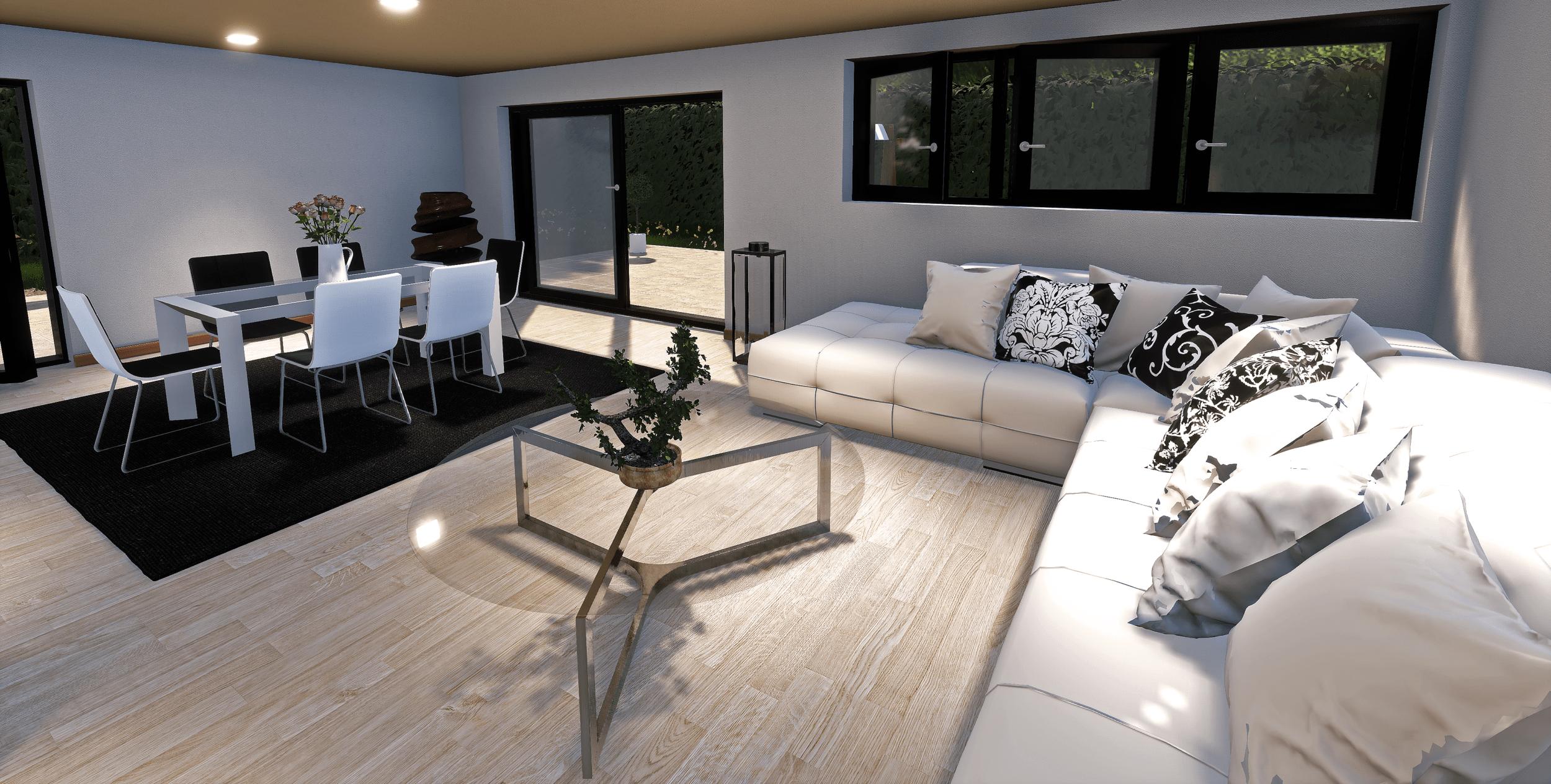 3D modeling - 3D rendering - Real estate promotion - Les Marronniers