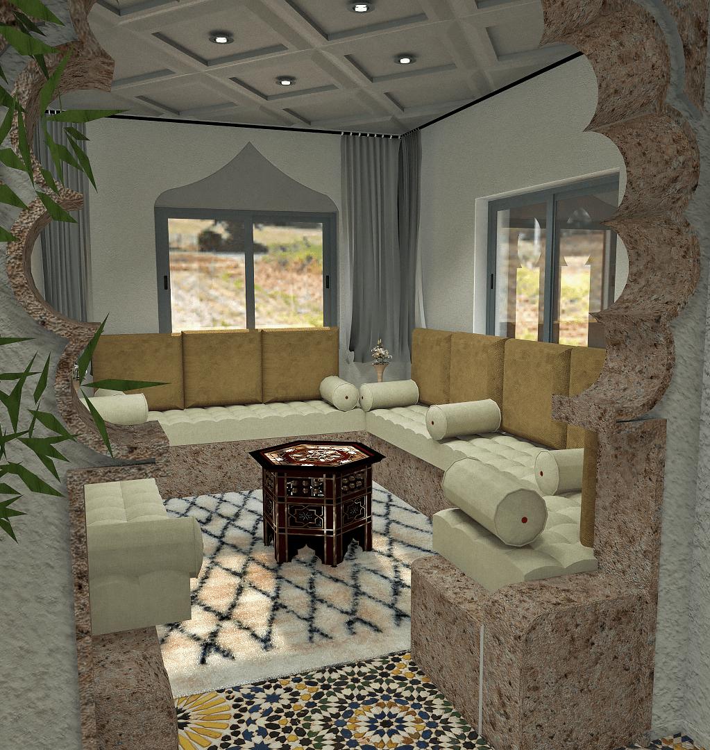 3D modeling - 3D rendering - Real estate promotion - Les Bougainvilliers