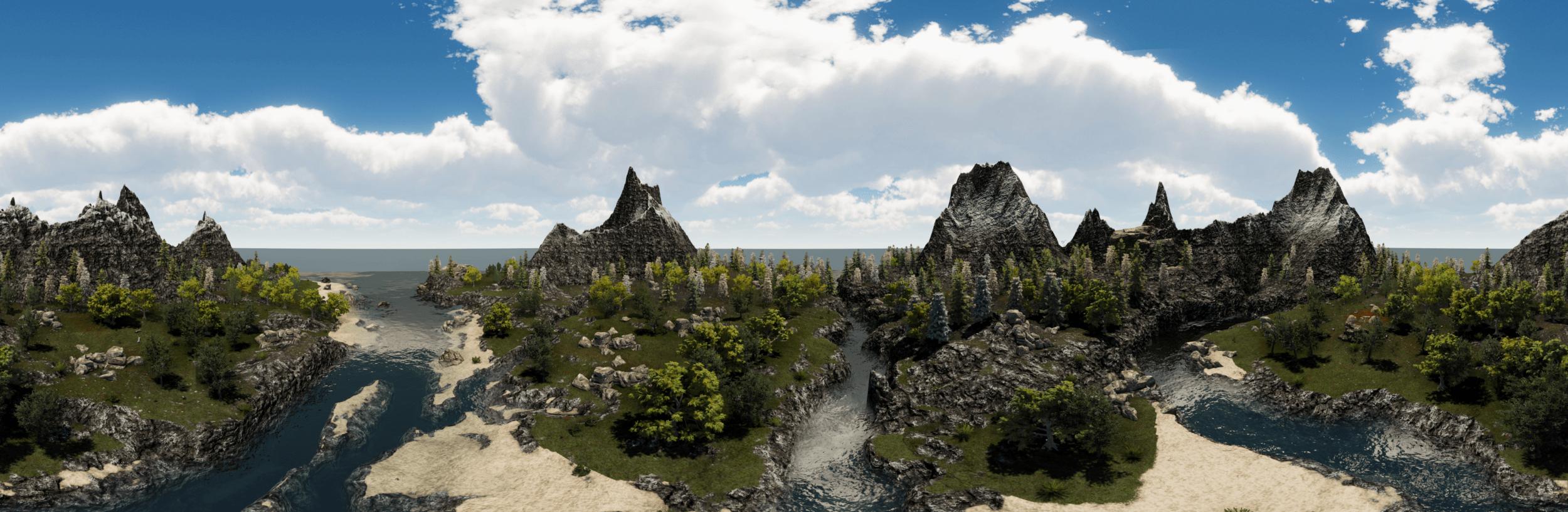 Prehistoric virtual world