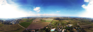 Panorama aérien - Drone - Villa à Denens