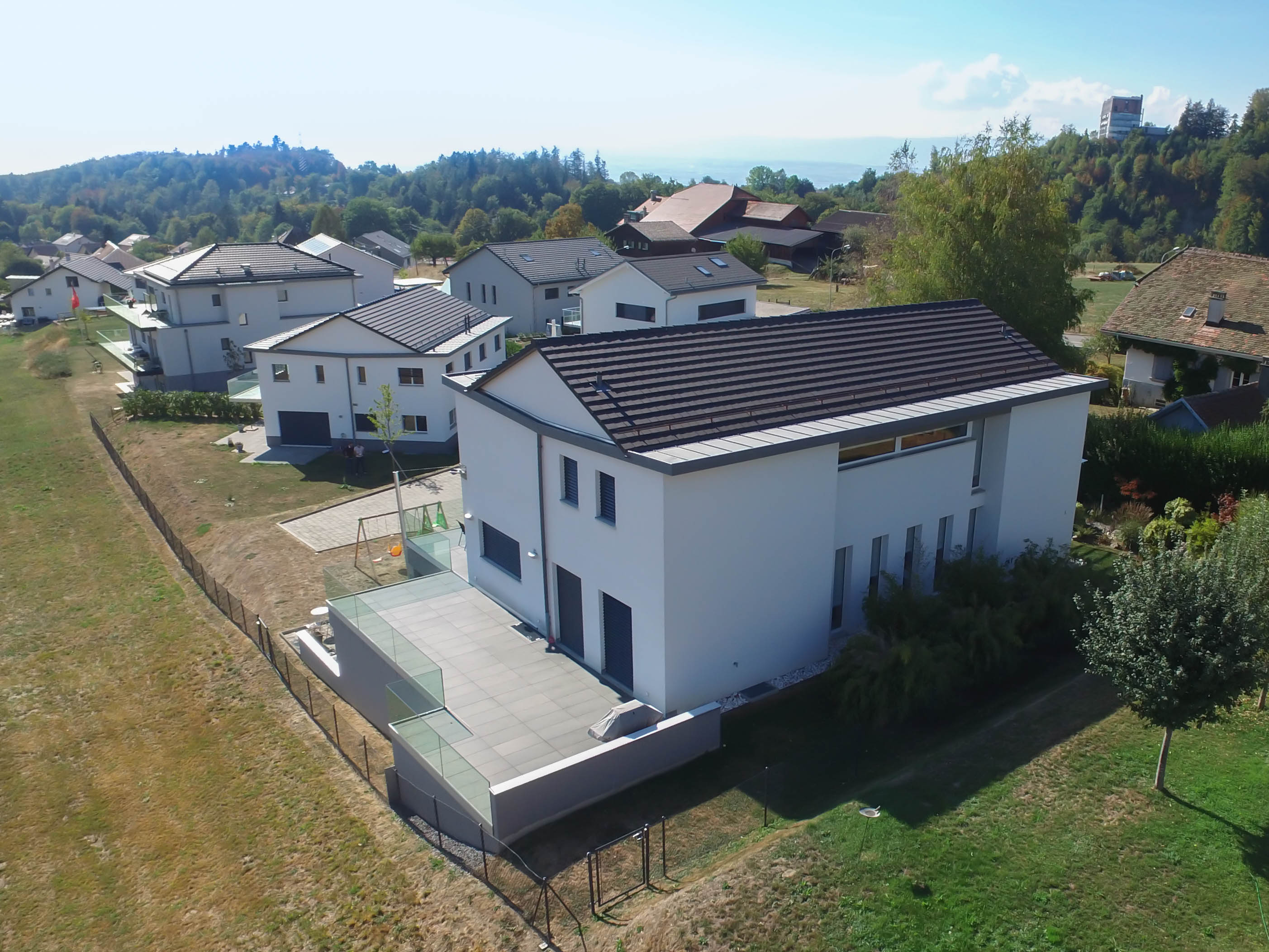 Aerial photo - Drone - Real estate in Lausanne