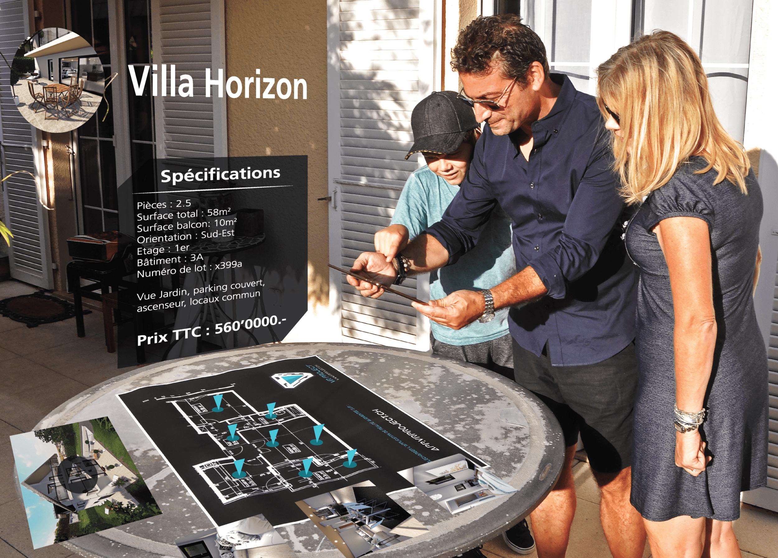 Augmented reality - VISION platform
