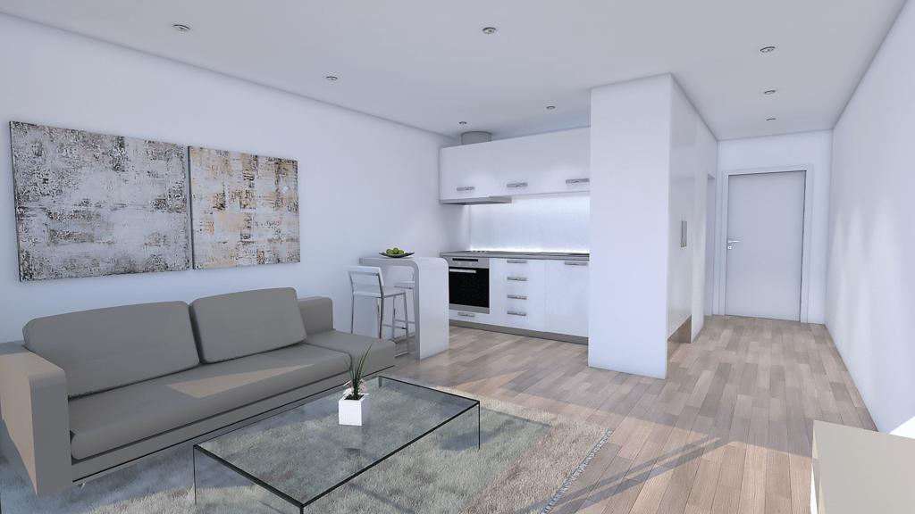 3D rendering - Kitchen