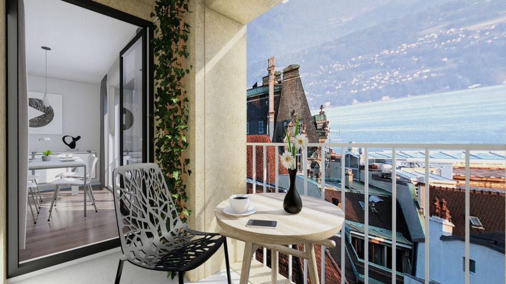 3D renderings - Terrace