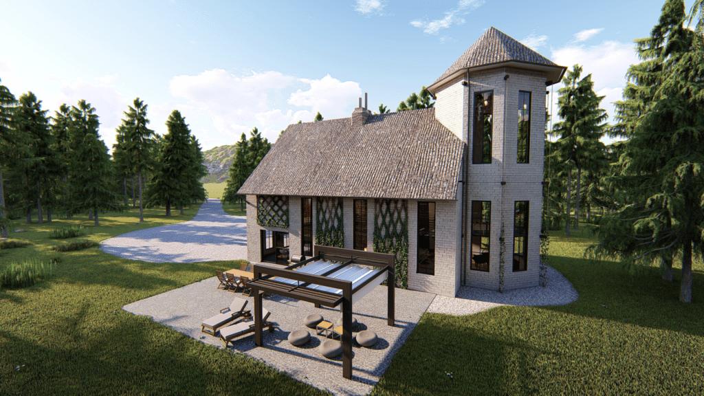 Rendus 3D - Terrasse