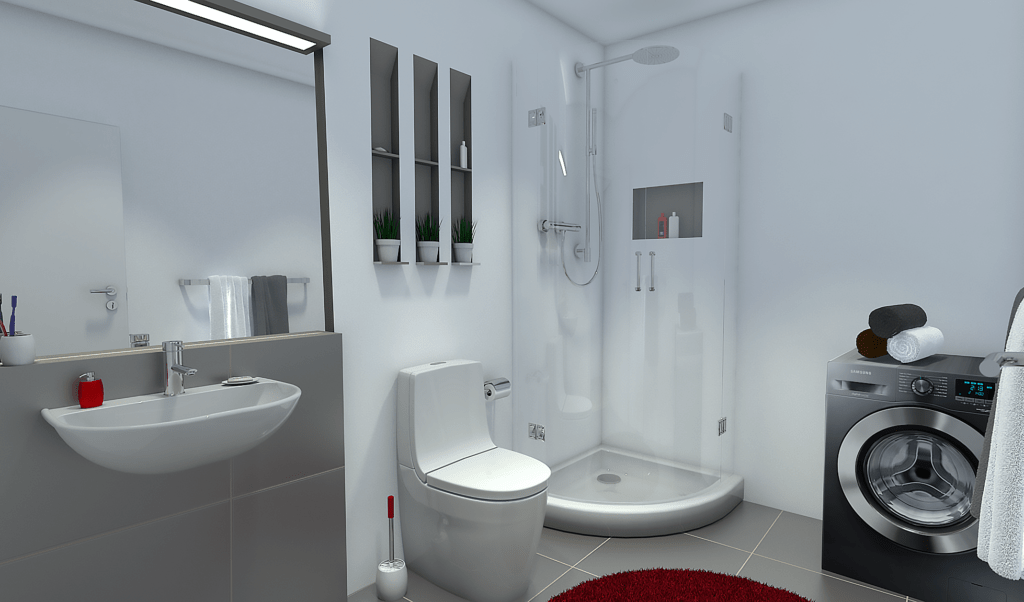 3D rendering - WC