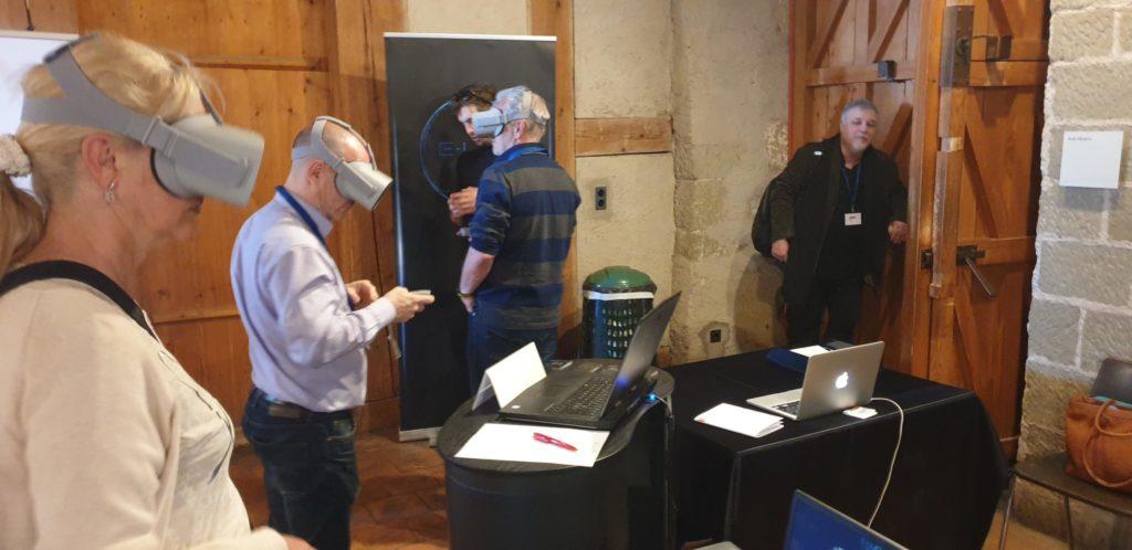Virtual reality - E-Lud, teaching platform